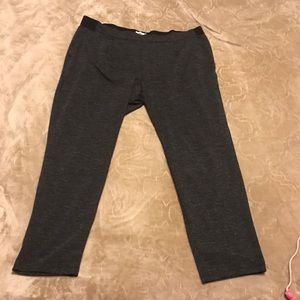 Old Navy gray cotton stretch work pants size XL